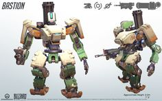Bastion Cosplay Reference Guide #2 - Overwatch