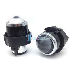 47.24$  Buy now - http://ali2go.worldwells.pw/go.php?t=32761648737 - Taochis M6 Car 2.5 inch Bi Xenon Projector Lens Kit H11 Bulbs Crystal Clear foglights Dedicated For Nissan Patrol Quest Fog lamp 47.24$