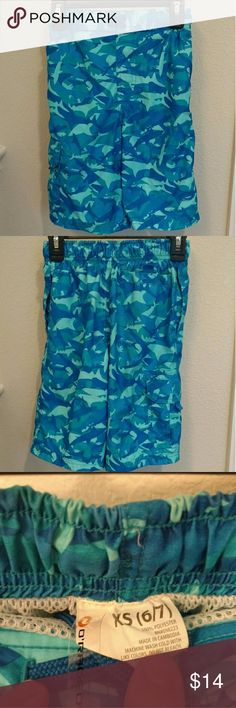 Boys Swim Trunks Shorts Swim Trunks Shorts Size XS 6-7 Smoke/Pet Free Home  NOTE: All items listed are available for purchase or trade. Shipments go out usually on Fridays only. O'rageous Swim
