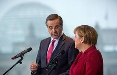 Crisis: Merkel promises help to create jobs in Greece    Germany must play a part in helping Greece fight unemployment, German Chancellor Angela Merkel said Tuesday in Berlin. 'We also have to do everything we can to guarantee economic growth and the security of work places', Merkel said in a joint statement with Greek Premier Antonis Samaras. Merkel explained that she wanted to understand how reforms were continuing and Athens' economic outlook. Greece 'suffers unemployment, in particular…