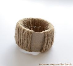 Napkin Ring Pottery Barn Knock-off - add your collectable theme rather than a starfish. Starfish Napkin RingPottery Barn Knock-off Farmhouse Napkin Rings, Farmhouse Napkins, Christmas Napkin Rings, Christmas Napkins, Diy Napkin Rings, Pottery Barn, Crafts To Make, Diy Crafts, Painted Wine Bottles