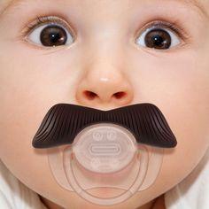 Mustachifier Baby Pacifier