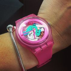 #Swatch PINK LACQUERED http://swat.ch/1iMqQIs