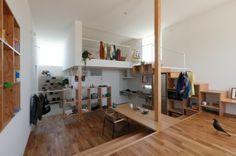 """Higashihayashiguchi"" Combines Cafe & Home In One, Shiga-Japan   ALTS DESIGN"