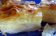 Laka kuharica: Pita s kiselim mlijekom i fetom ☆ Sour milk and feta cheese phyllo pie Greek Cooking, Easy Cooking, Cooking Recipes, Cooking Time, Pita Recipes, Greek Recipes, Sour Milk Recipes, Sauces, Savory Pastry