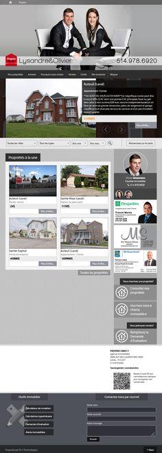Olivier Desrochers et Lysandre Mailhot Perron - courtier immobilier #ProprioDirect #Aliquando #immobilier #vendre #acheter #maison #habitation http://lysandreolivier.com/
