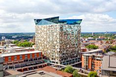 The Cube is a great example of boundary pushing architecture which is everywhere in Birmingham. Living in one of these flats is a life's ambition!