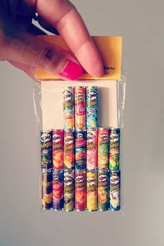 Adoro coisas em miniaturas #little #chips #potato
