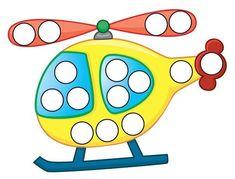 Fall Preschool Activities, Preschool Education, Preschool Learning Activities, Color Activities, Infant Activities, Teaching Kids, Transportation Crafts, Lacing Cards, Do A Dot