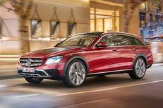 A-weg, B-weg of geen weg? Maakt niet uit voor de nieuwe Mercedes-Benz E-Klasse All-Terrain.