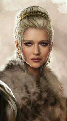 Female human barbarian - Pathfinder PFRPG DND D&D d20 fantasy