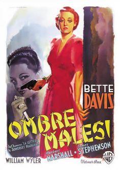 The Letter (1940) - Italian Four Foglio (Luigi Martinati)