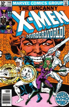 Cover for The Uncanny X-Men (Marvel, 1981 series) #146 [Newsstand Edition]