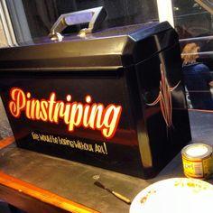 Pinstripers box