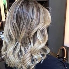 Medium Blonde Hairstyle - 40 Beautiful Blonde Balayage Looks - The Trending Hairstyle Hair Color Balayage, Blonde Balayage, Blonde Hair, Different Blond, Hair Color 2017, Langer Bob, Super Hair, How To Make Hair, Hair Videos