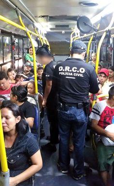 Estatística revela que 749 criminosos foram presos por assaltar ônibus em Manaus