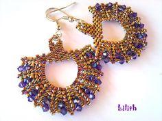 Gorgeous herringbone earrings Lilith Gyngykszerek: Paika#Repin By:Pinterest++ for iPad#