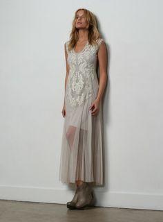 Brianna Mesh Dress