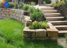 Pineapple stone stair