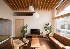 大屋根の垂木の家・間取り(和歌山県海南市) | 注文住宅なら建築設計事務所 フリーダムアーキテクツデザイン