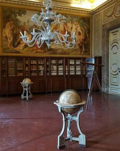 Library Room in the Royal Palace of Caserta Italy  #caserta #italy #travel #palace #interior #library #galaxys6
