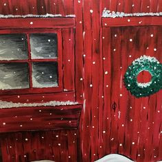 Had a wonderful time at our ladies painting event with our church. Learned how to paint this charming Christmas scene. It can't snow soon enough. #designerssweetspot #madison #wisconsin #paintnight #acrylics #acrylicpainting #snowlife #bloggerslife #chris