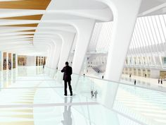 Santiago Calatrava : World Trade Center : Transportation Hub : New York : USA