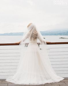 Stunning photo of a recent bride