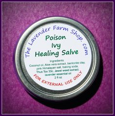 Lavender Poison Ivy Healing Salve