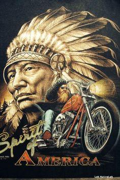 Screen on t-shirt Screen on t-shirt Native American Pictures, Native American Artwork, American Indian Art, Motorcycle Posters, Motorcycle Art, Bike Art, Harley Davidson Quotes, Harley Davidson Wallpaper, Art Deco Posters