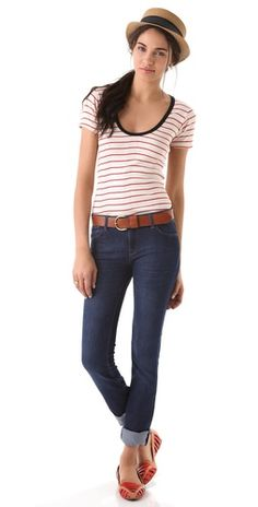 DL1961 Grace High Rise Straight Jeans | SHOPBOP Save 20% with Code WEAREFAMILY13