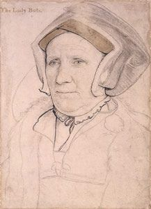 Margaret Butts by Holbein | A sketch of Margaret Butts (maid… | Flickr