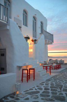 Beleza e Simplicidade nas Cores da Grécia