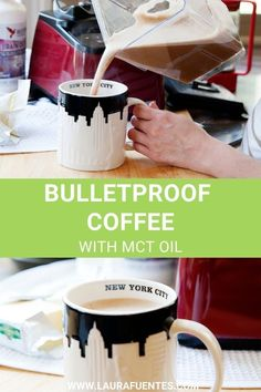 Learn the benefits of bulletproof coffee for women and how to make a delicious cup every single time #bulletproofcoffee #coffee #keto #breakfast What Is Bulletproof Coffee, Bulletproof Diet, Coffee Ingredients, Coffee Uses, Grass Fed Butter, Mct Oil, Blended Coffee, Perfect Cup, Coffee Recipes