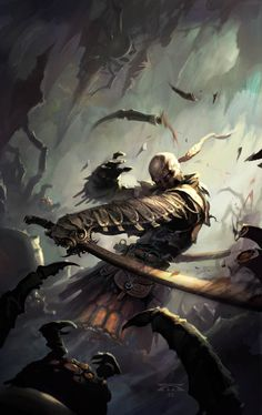 The Fighters Bladesinger by Raymond Swanland