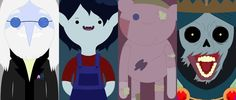 Adventure Time :) Simon, Marcy, Hambo and the Lich.