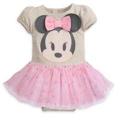 With bold character artwork and a layered tutu skirt, this Minnie Mouse body suit makes for a super-cute party look! It features cute cap sleeves and an appliqué Minnie with embroidered detail and fun ears. Baby Ballerina, Baby Tutu, Baby Dress, Baby Mouse, Minnie Mouse, Diy Tutu Skirt, Tutu Skirts, Princess Tutu Dresses, Fabric Tutu