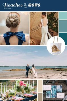 At BESWOON you can explore 3 different wedding themes, all designed by our talented local wedding professionals. Here's a look into one of our room themes for this year: BEACHES & BOWS!