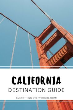 A complete guide to visiting California, a state known for its stunning coastline, celebrity-filled cities, and pristine national parks including Yosemite, Death Valley, Joshua Tree, Redwoods National Park and more. Travel in the USA. | Everything Everywhere Destination Guide