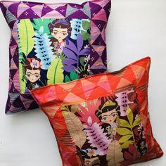 Almofadas Frida Kahlo ilustrações