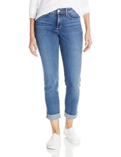 NYDJ Women's Sylvia Relaxed Boyfriend Jeans In Heyburn -- This is an Amazon Affiliate link. Visit the image link more details.