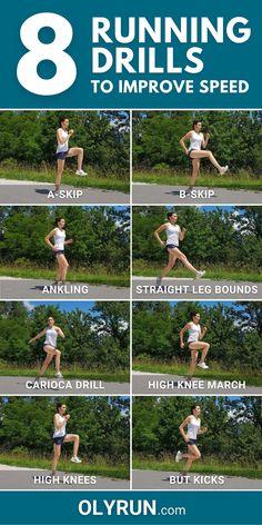 Top 8 Running Drills To Improve Speed [Video]   OLYRUN