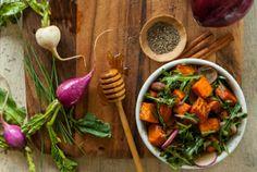 Whole Foods' Roasted Sweet Potato Salad. #MeatlessMonday