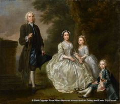 One of Hayman's earliest conversation portraits, the Wagg Family was once attributed to Bartholomew Dandridge and even William Hogarth. As a friend Hayman would have been familiar with Hogarth's successful early group portraits of the 1730s such as Ashley Cowper with his wife and Daughter (Tate) and the similarities have been well documented