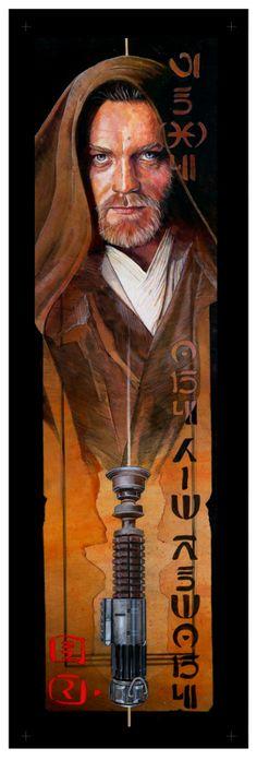 Obi-Wan Kenobi  Created by Mark Raats
