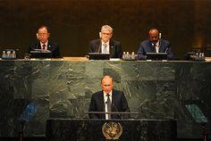 Выступление Президента России ВВ Путина в ООН. Это была лучшая речь.