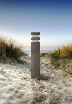 Outdoor CONCRETE BOLLARD Designed & Produced by The Light Team!  It is entirely made out of concrete and designed to withstand the most difficult weather conditions. With its concrete internal base and with no metal element in direct contact with the outside enviroment, is ideal for placement in coastal areas!  Available in 2 sizes and 6 colours . Bollard Lighting, Outdoor Lighting, Outdoor Decor, Concrete Light, Weather Conditions, Lighting Design, Making Out, Coastal, Base