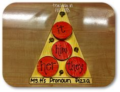 Great idea for teaching pronouns...awesome blog from a 3rd grade teacher! (Teaching in flip flops)