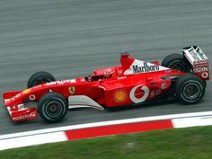 2001 Ferrari F2001 ile ilgili görsel sonucu