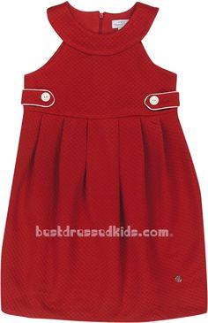 Sleeveless Pique Knit Dress - Mayoral Dress $26.95